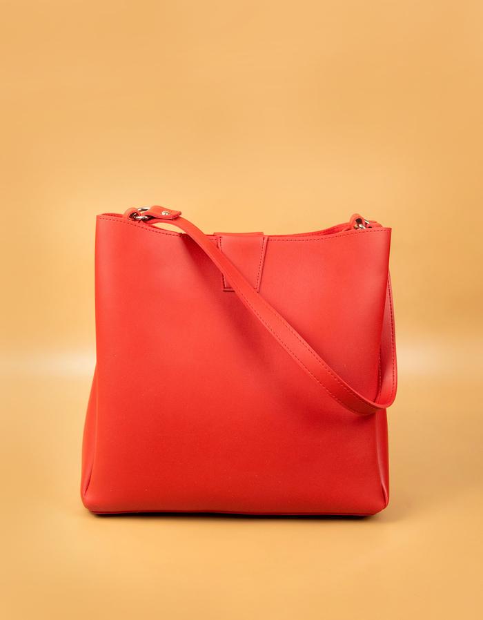 Червена Дамска Чанта Код966-03