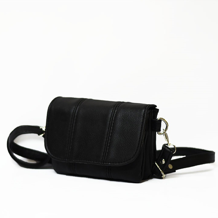 Черна Дамска Чанта Код 526