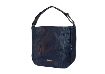Тъмно синя дамска чанта Код-887-02