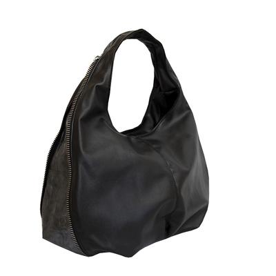 Дамска Чанта Черно-Сиво Код 944-01