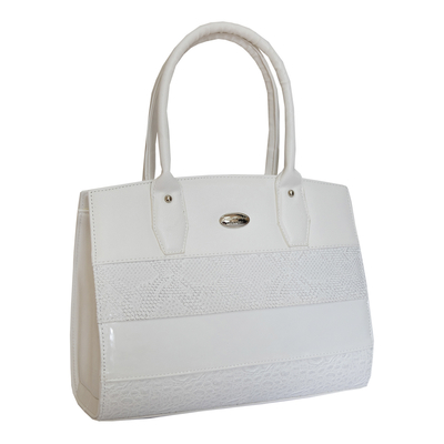Бяла Дамска Чанта Код 918-03