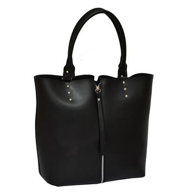 Черна Дамска Чанта +Несесер Код 915