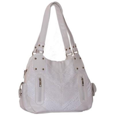 Бяла Дамска Чанта Код713-05