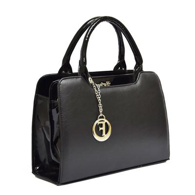 Черна Дамска Чанта Код 821 Б
