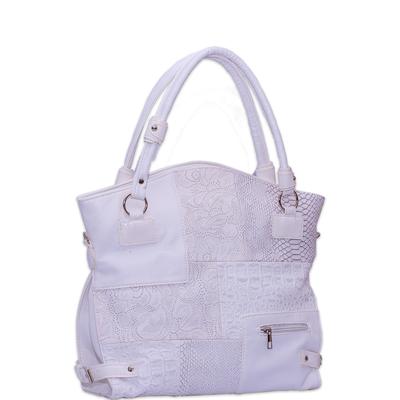 Бяла Дамска Чанта Код711-03